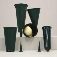 Cemetary Vases