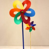 Large and Small Pinwheels